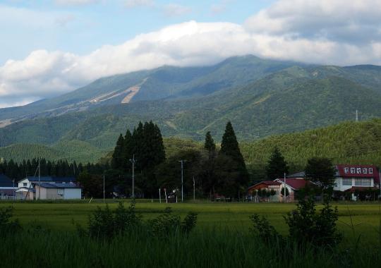 田沢湖高原の温泉(水沢温泉郷)